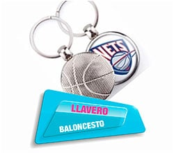 Llavero Balon Basquet