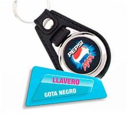 Llavero Gota Negro