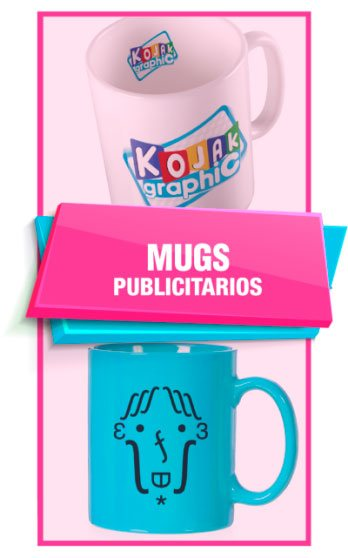 Kojak Graphic - Mugs Publicitarios