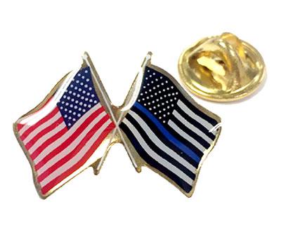 Pin Doble Bandera